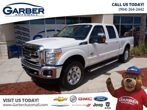 Pre-Owned 2016 Ford F-250 4x4 Lariat 4dr Crew Cab 8 ft. LB Pickup 4WD