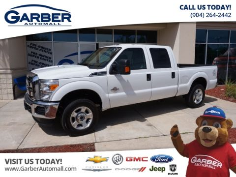 Pre-Owned 2016 Ford F-250 4x4 XLT 4dr Crew Cab 8 ft. LB Pickup 4WD