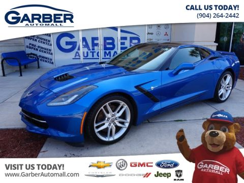 Pre-Owned 2014 Chevrolet Corvette Stingray Z51 RWD Coupe