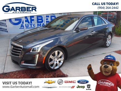 Pre-Owned 2015 Cadillac CTS 3.6L Premium RWD Sedan