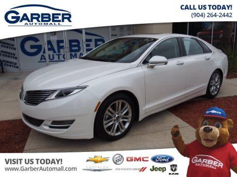 Pre-Owned 2015 LINCOLN MKZ 4dr Sedan FWD Sedan